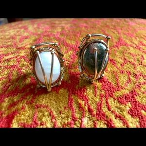 Two stone rings fashion jewelry